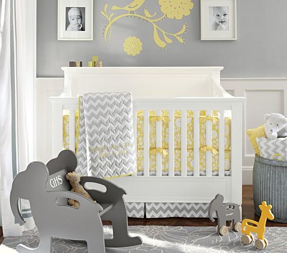 Georgia Nursery Quilt Bedding Set, Toddler Quilt, Crib Skirt & Crib Fitted Sheet