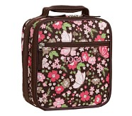 Mackenzie Chocolate Floral Classic Lunch Bag