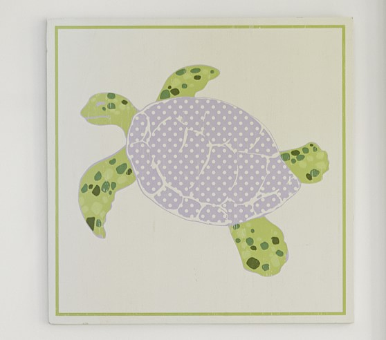 Under-the-Sea Plaque, Turtle