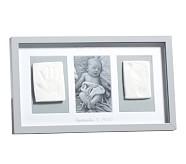 Lacquer Handprint/Footprint Triptych