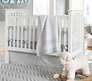 Reagan Nursery Quilt Bedding Set: Toddler Quilt, Crib Skirt & Crib Fitted Sheet