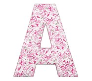 Fabric Letter - A