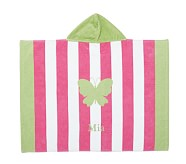 Stripe Butterfly Baby Beach Wraps