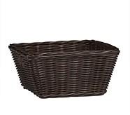 Sabrina Basket Collection, Medium, Espresso