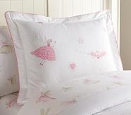 Brigette Embroidered Standard Sham, Pink