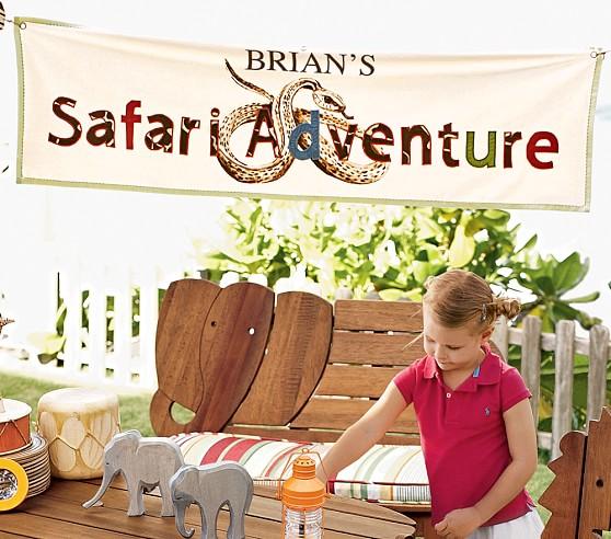 Safari Adventure Banner