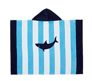 Stripe Shark Baby Beach Wraps