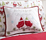 Winter Wonderland Nursery Toddler Quilted Sham
