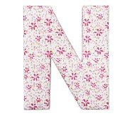 Fabric Letter - N