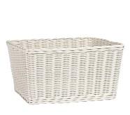 Sabrina Basket, XL, Simply White
