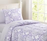 Loft Butterfly Quilt, Lavender, Twin