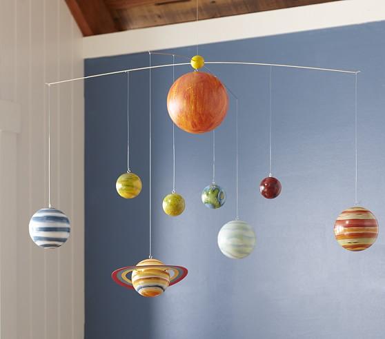 Planet Ceiling Mobile | Pottery Barn Kids