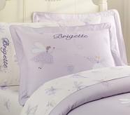 Brigette Embroidered Standard Sham, Lavender