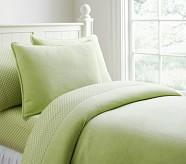 Chamois Duvet, Full/Queen, Green