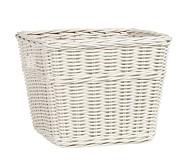 Sabrina Basket, Large, Simply White