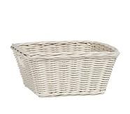 Sabrina Basket, Medium, Simply White