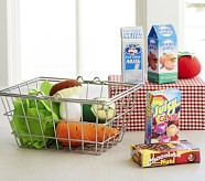 Mini Grocery Basket Set
