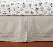 Hadley Northstar Owl Nursery Crib Skirt