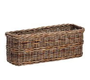 Taupe Sabrina Changing Table Basket