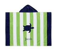Stripe Turtle Baby Beach Wraps