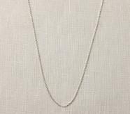 Baroni Silver Necklace