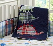 Dino Madras Nursery Quilt
