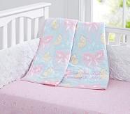 Zoey Nursery Bedding Set: Toddler Quilt, Crib Skirt & Crib Fitted Sheet