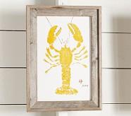 Yellow Lobster Art