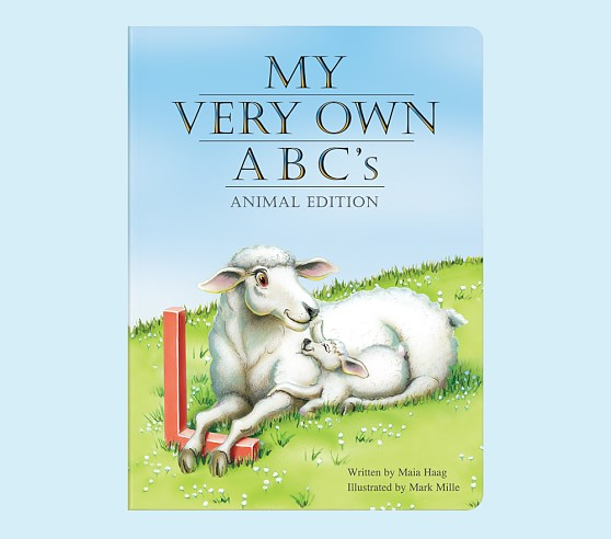 My Very Own ABCs Personalized Board Book