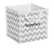 Gray Harper Chevron Pop Up Tote