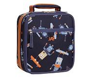Mackenzie Blue Robot Classic Lunch Bag