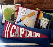 Captain Lumbar/Flag Pillow