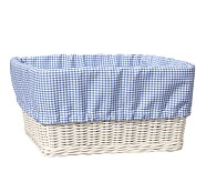 XL Gingham Liner, Blue