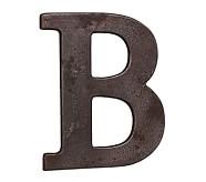 Faux Bronze Letter, B