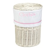 Harper Sabrina Hamper Liner, Light Pink