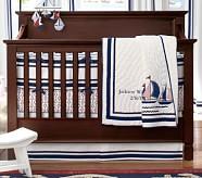 Harper Boats Nursery Quilt Bedding Set, Toddler Quilt, Crib Skirt & Crib Fitted Sheet