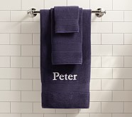 Essential Wash Cloth, Navy