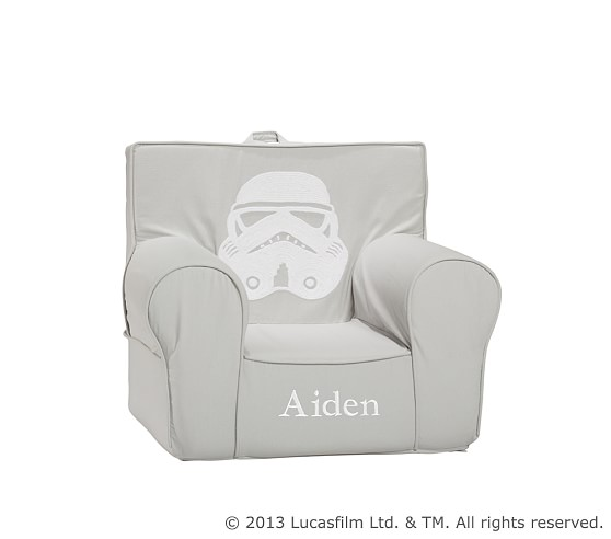 Anywhere Chair® Slipcover Only, Stormtrooper™ Crewel