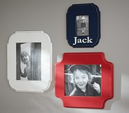 Harper Personalized Frame, Red, Square 5x7