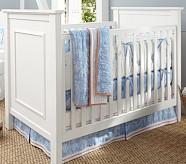 Noah Nursery Bedding Set: Toddler Quilt, Crib Skirt & Crib Fitted Sheet