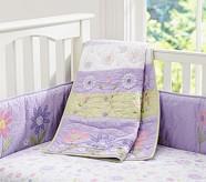 Daisy Garden Quilt, Lavender