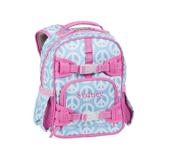 Mackenzie Aqua Peace Mini Backpack