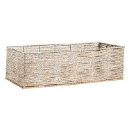 Silver Rope Basket Cameron Base