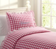 Eleanor Duvet Cover, Twin, Pink