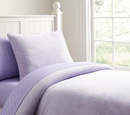 Chamois Duvet, Twin, Lavender
