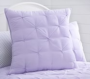 Audrey Euro Quilted Sham, Lavender