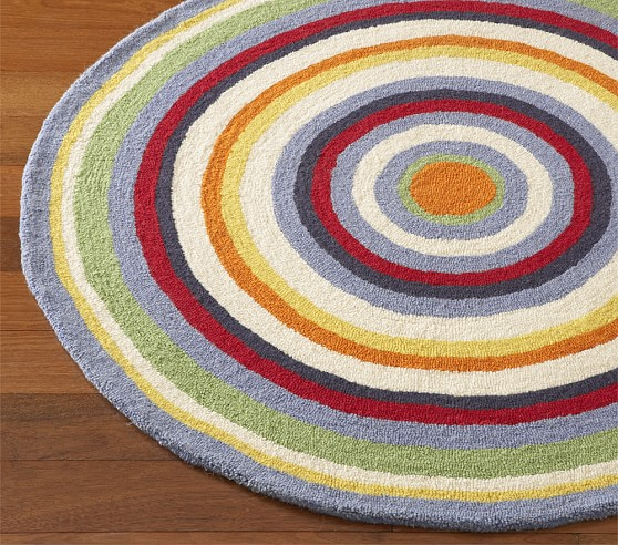 Circus Round Rug Swatch