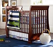 Alligator Madras Nursery Bedding Set, Crib Fitted Sheet, Toddler Quilt & Crib Skirt