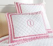 Harper Standard Quilted Sham, Bright Pink