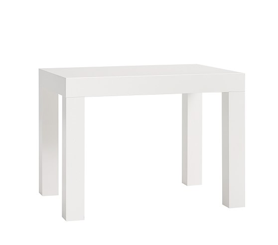 Parsons Small Play Table, Simply White